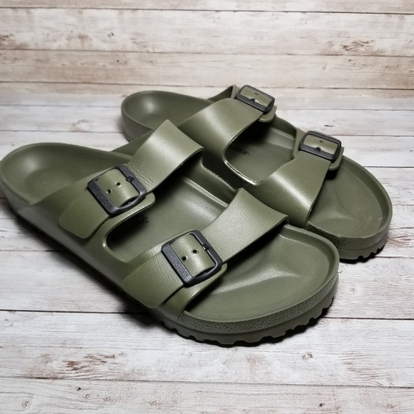 a825ec8ffcf29b Birkenstock Other - Birkenstock Arizona Essentials Eva Green Sandals